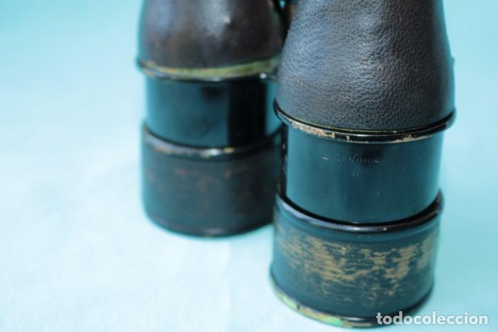Antigüedades: Binoculares militares antiguos francesas . Antique french military binoculars. - Foto 9 - 57712541