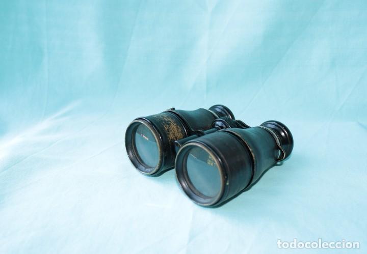 Antigüedades: Binoculares militares antiguos francesas . Antique french military binoculars. - Foto 10 - 57712541