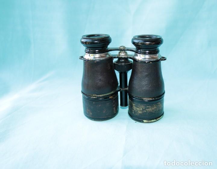 Antigüedades: Binoculares militares antiguos francesas . Antique french military binoculars. - Foto 12 - 57712541