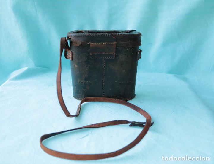 Antigüedades: Binoculares militares antiguos francesas . Antique french military binoculars. - Foto 13 - 57712541
