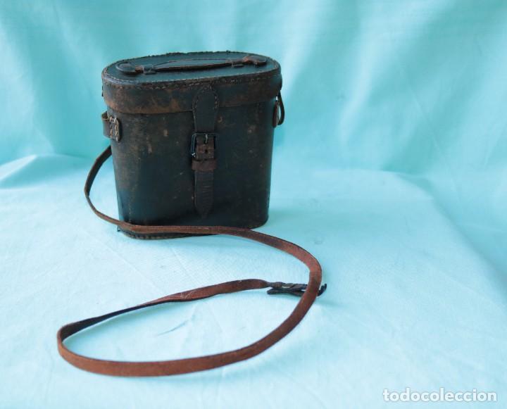 Antigüedades: Binoculares militares antiguos francesas . Antique french military binoculars. - Foto 14 - 57712541