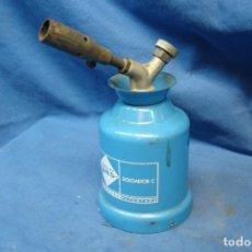 Antigüedades: MINI SOPLETE SOLDADOR C MARCA CAMPING GAS. Lote 225371905