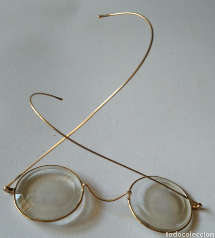 Antigüedades: Antiguas lentes gafas en oro de 12kilates ?.marca stoco v/10 - 12 - Foto 2 - 225372085