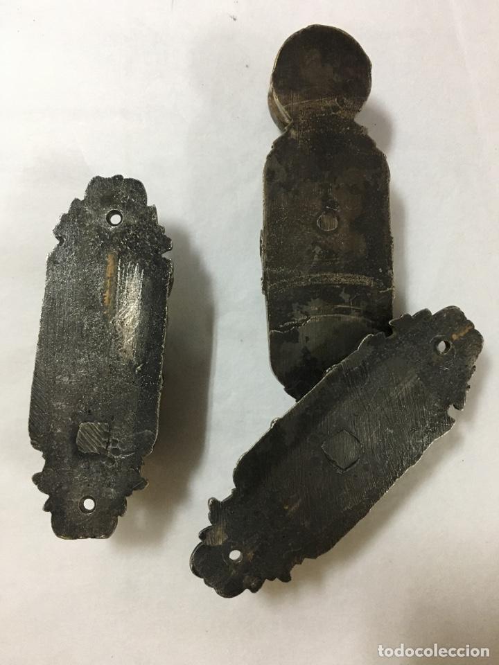 Antigüedades: Pestillo antiguo para puerta - Foto 4 - 225474743