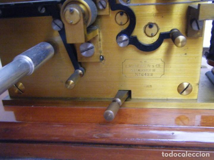 Antigüedades: EXCEPCIONAL RECEPTOR MORSE SUECO - Foto 10 - 225565031