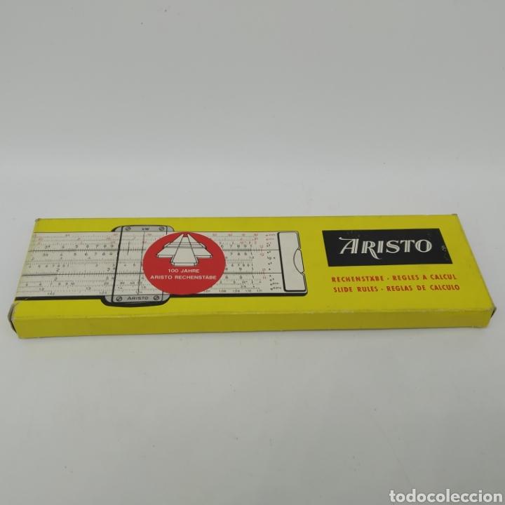 Antigüedades: Regla de cálculo de precisión Aristo Studio 868, año 1963 Aristo-Werke, Aristopal, Slide Rule - Foto 11 - 225572245