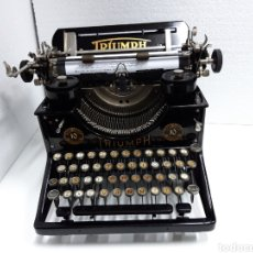 Antigüedades: ANTIGUA MAQUINA DE ESCRIBIR TYPEWRITER TRIUMPH 10. Lote 225582975