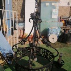 Antigüedades: LAMPARA DE FORJA. Lote 225645241