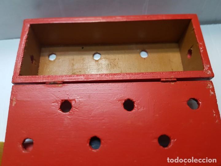 Antigüedades: Magia Caja Cubos de madera y cuerda original de Mago años 40-50 - Foto 4 - 225710140