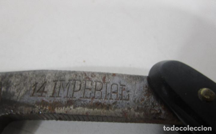 Antigüedades: Navaja de Afeitar - Barbero - 14 Imperial - Foto 5 - 225726025