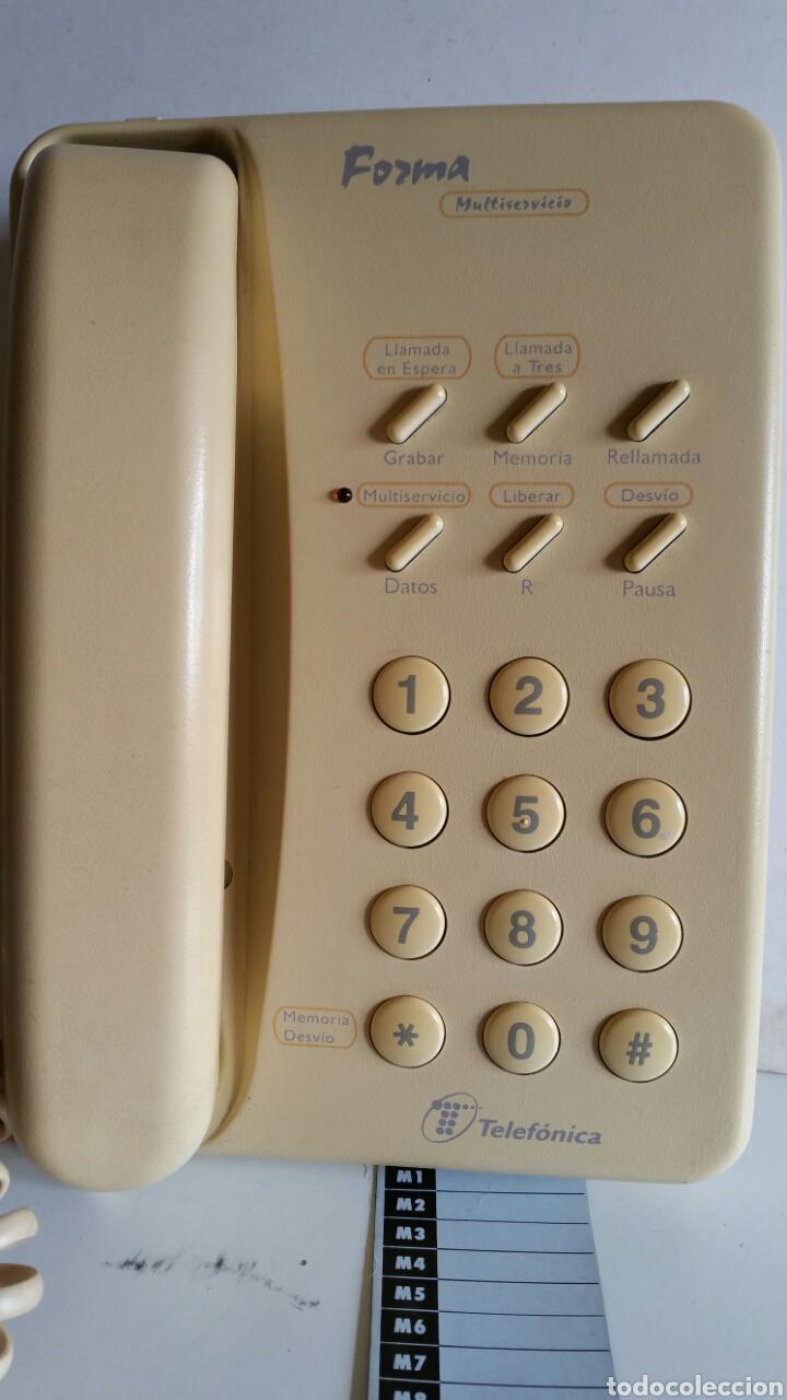 Teléfonos: TELEFONO MULTISERVICIO DE TELEFONICA / MODELO FORMAS / FABRICADO POR ALCATE.. FUNCIONANDO. - Foto 2 - 225764575