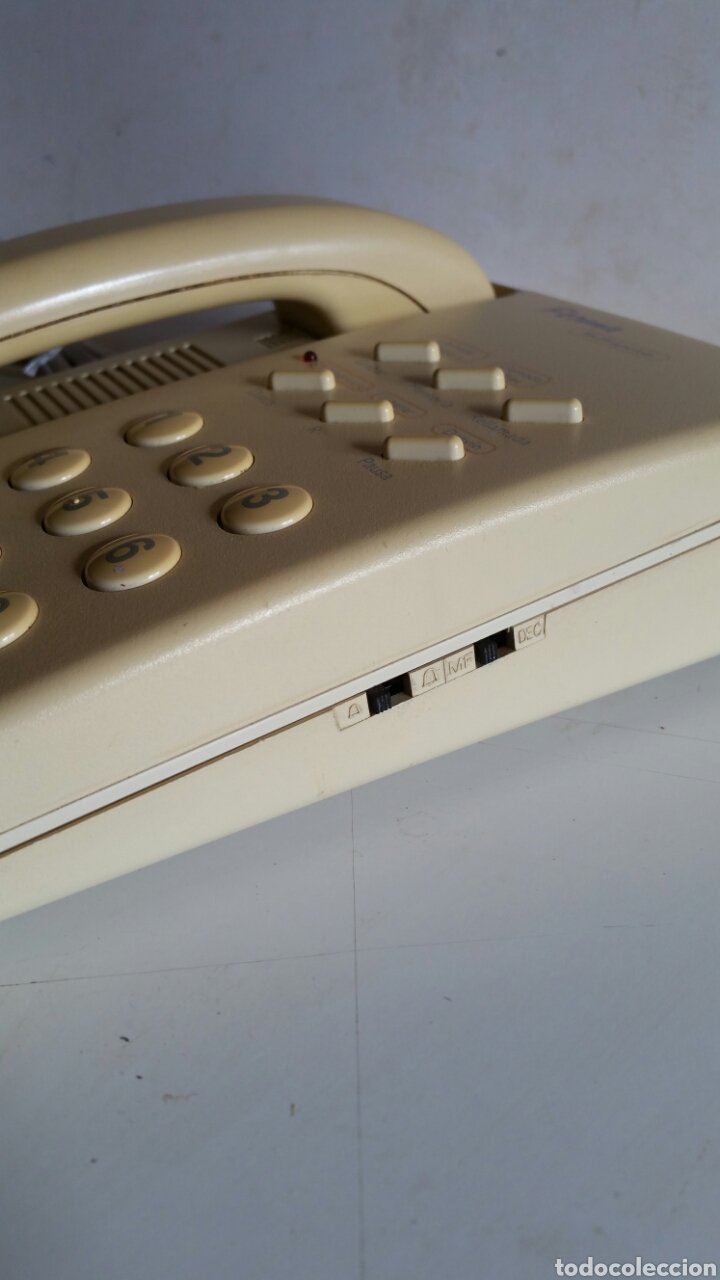 Teléfonos: TELEFONO MULTISERVICIO DE TELEFONICA / MODELO FORMAS / FABRICADO POR ALCATE.. FUNCIONANDO. - Foto 3 - 225764575
