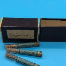 Antigüedades: STROPHANTINE CHANTEAUD FARMACIA MEDICAMENTOS. Lote 225799738
