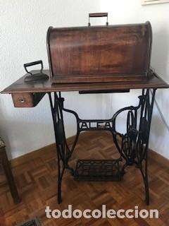 MÁQUINA DE COSER ALFA (Antigüedades - Técnicas - Máquinas de Coser Antiguas - Singer)