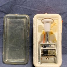 Antigüedades: NUMBERING MACHINE REXEL ENM GRAN BRETAÑA 7X19X10CMS. Lote 225870515