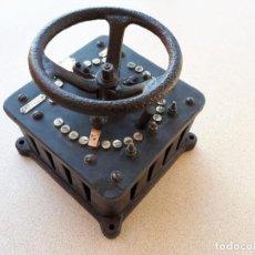Antiguidades: VARIADOR TRANSFORMADOR ELECTRICO VINTAGE ANTÍGUO. Lote 225871420