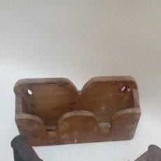 Antigüedades: PAREJA DE `PLANCHAS-. Lote 225970140