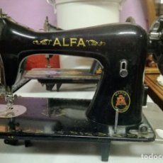 Antigüedades: CABEZA DE MÁQUINA DE COSER ALFA. Lote 225973340