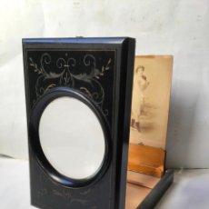 Antigüedades: ANTIGUO GRAFOSCOPIO DEL SIGLO 19 , VISOR LUPA DE FOTOGRAFIA , SEGUNDO IMPERIO 1860 , PLEGABLE. Lote 226101445
