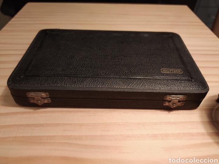 Antigüedades: Antigua caja instrumentos para microscopía 1900 Modelo Leitz Medicina Veterinaria Microscopio - Foto 4 - 226108650