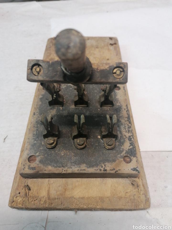 Antigüedades: Interruptor eléctrico - Foto 3 - 226110356