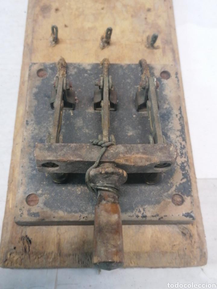 Antigüedades: Interruptor eléctrico - Foto 5 - 226110356