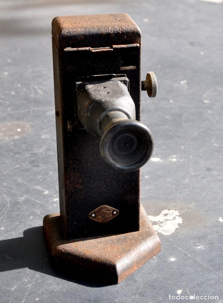 COLORÍMETRO- MICROSCOPIO MONOCULAR (Antigüedades - Técnicas - Instrumentos Ópticos - Microscopios Antiguos)