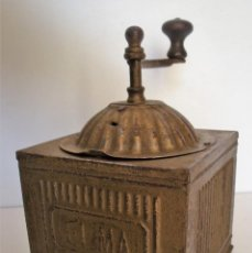Antigüedades: MOLINILLO DE CAFÉ MARCA ELMA. MODELO 1419. TAMAÑO 3. ESPAÑA. 1924/1960. Lote 226220040