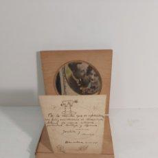 Antigüedades: ESPEJO PARA MIRAR FOTOGRAFÍAS. Lote 226279097