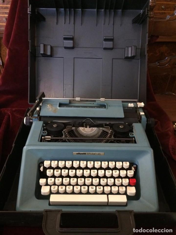 MAQUINA DE ESCRIBIR OLIVETTI (Antigüedades - Técnicas - Máquinas de Escribir Antiguas - Otras)