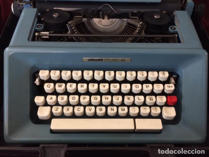 Antigüedades: Maquina de escribir Olivetti - Foto 3 - 226283290