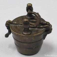 Antigüedades: PEQUEÑO PODENRAL DE BRONCE. SIGLO XVII. Lote 226360650