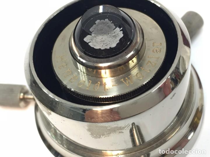 Antigüedades: Lente Microscopio? Hensoldt wetzlar - Foto 4 - 224782341