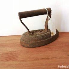 Antigüedades: ANTIGUA PLANCHA DE HIERRO 4. 1814G. W. Lote 226436185