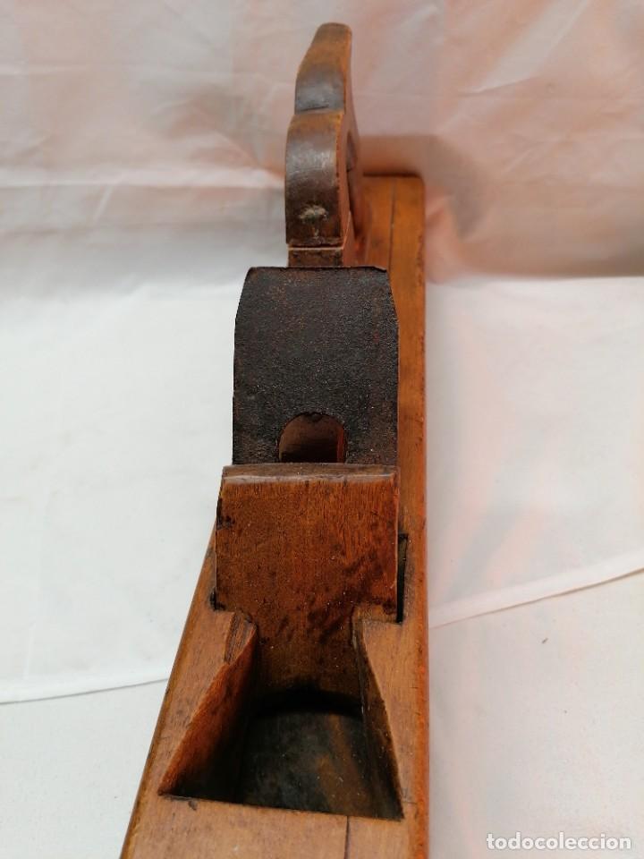 Antigüedades: Antigua garlopa de gran tamaño - Foto 2 - 226446491