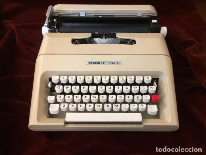 Antigüedades: Maquina de escribir Lettera 35 - Foto 2 - 226572945