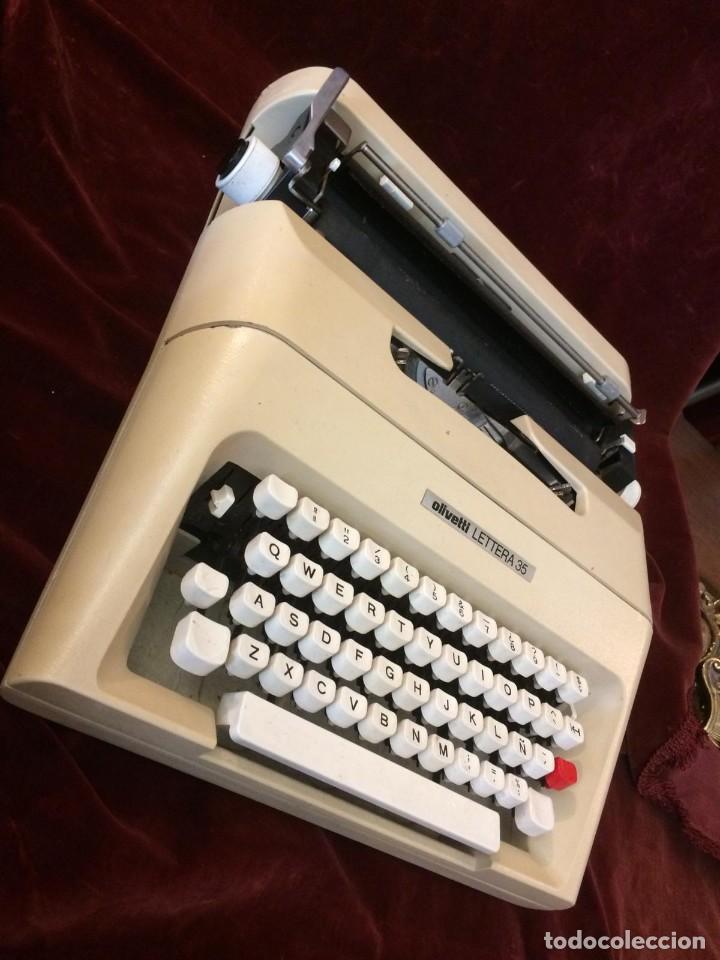 Antigüedades: Maquina de escribir Lettera 35 - Foto 3 - 226572945
