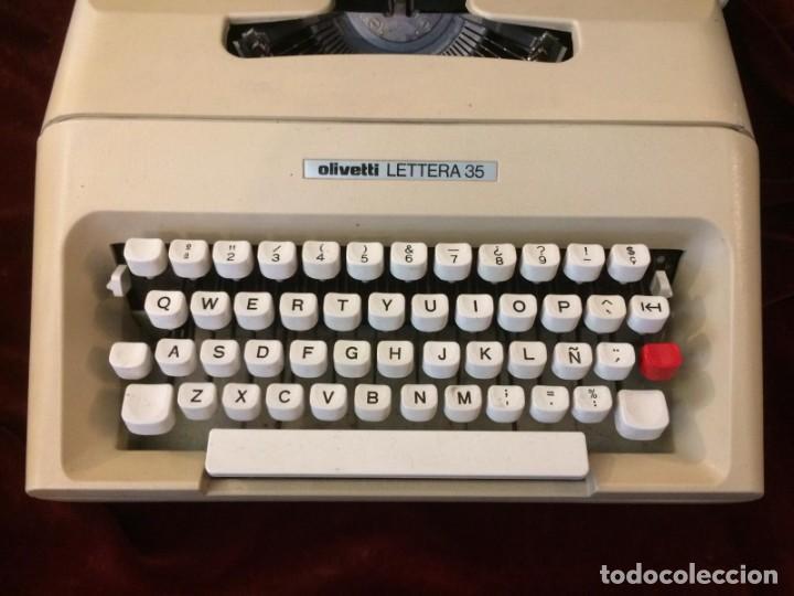 Antigüedades: Maquina de escribir Lettera 35 - Foto 4 - 226572945