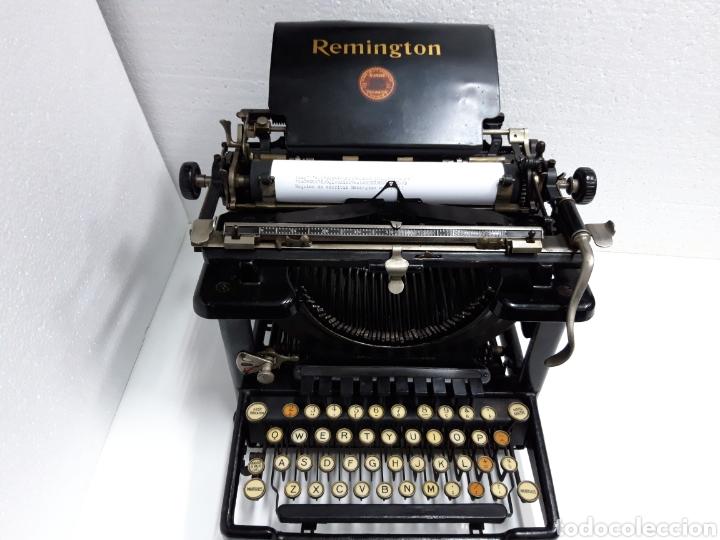 ANTIGUA MAQUINA DE ESCRIBIR, TYPEWRITER REMINGTON 11 (Antigüedades - Técnicas - Máquinas de Escribir Antiguas - Remington)