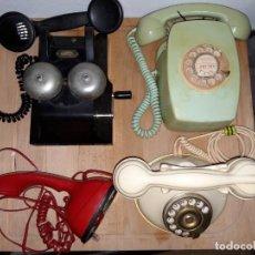 Teléfonos: COLECCION DE TELEFONOS ANTIGUOS.. Lote 226643630