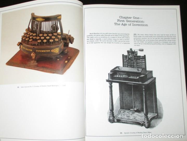 Antigüedades: ANTIQUE TYPEWRITERS. MICHAEL ADLER. LA BIBLIA DE LAS MÁQUINAS DE ESCRIBIR. EN INGLÉS. - Foto 3 - 226657574