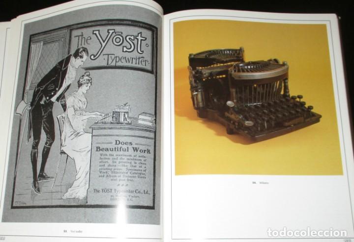 Antigüedades: ANTIQUE TYPEWRITERS. MICHAEL ADLER. LA BIBLIA DE LAS MÁQUINAS DE ESCRIBIR. EN INGLÉS. - Foto 5 - 226657574
