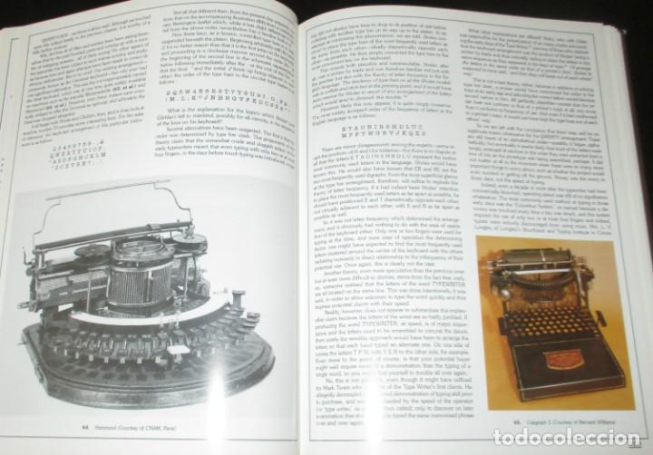 Antigüedades: ANTIQUE TYPEWRITERS. MICHAEL ADLER. LA BIBLIA DE LAS MÁQUINAS DE ESCRIBIR. EN INGLÉS. - Foto 6 - 226657574