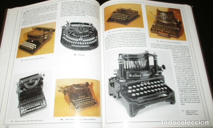 Antigüedades: ANTIQUE TYPEWRITERS. MICHAEL ADLER. LA BIBLIA DE LAS MÁQUINAS DE ESCRIBIR. EN INGLÉS. - Foto 8 - 226657574