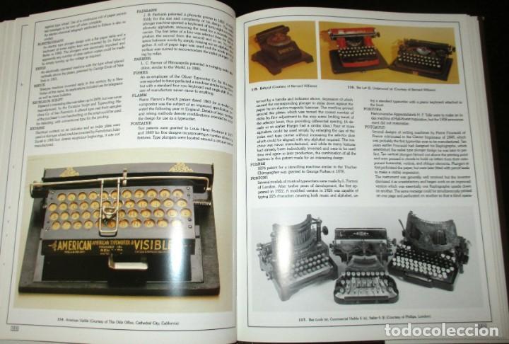 Antigüedades: ANTIQUE TYPEWRITERS. MICHAEL ADLER. LA BIBLIA DE LAS MÁQUINAS DE ESCRIBIR. EN INGLÉS. - Foto 9 - 226657574