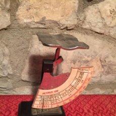 Antigüedades: PESO DE CARTAS BALANZA DE CARTERO BILATERAL PESACARTAS MARCA PETRUS 120 DE LOS AÑOS 40-50. Lote 226682530