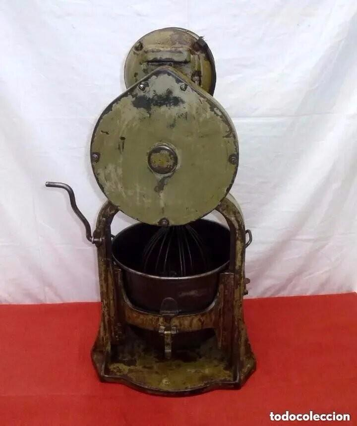 Antigüedades: Antigua Amasadora,Batidora.The Hobart Manufacturing Co Troy,o, U.S.A.Años 20. - Foto 11 - 226698620