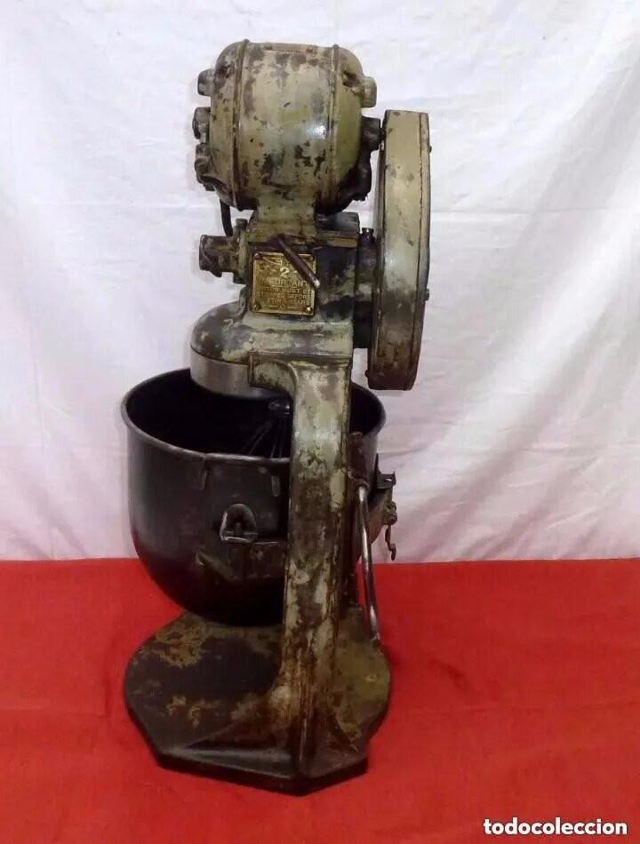 Antigüedades: Antigua Amasadora,Batidora.The Hobart Manufacturing Co Troy,o, U.S.A.Años 20. - Foto 19 - 226698620