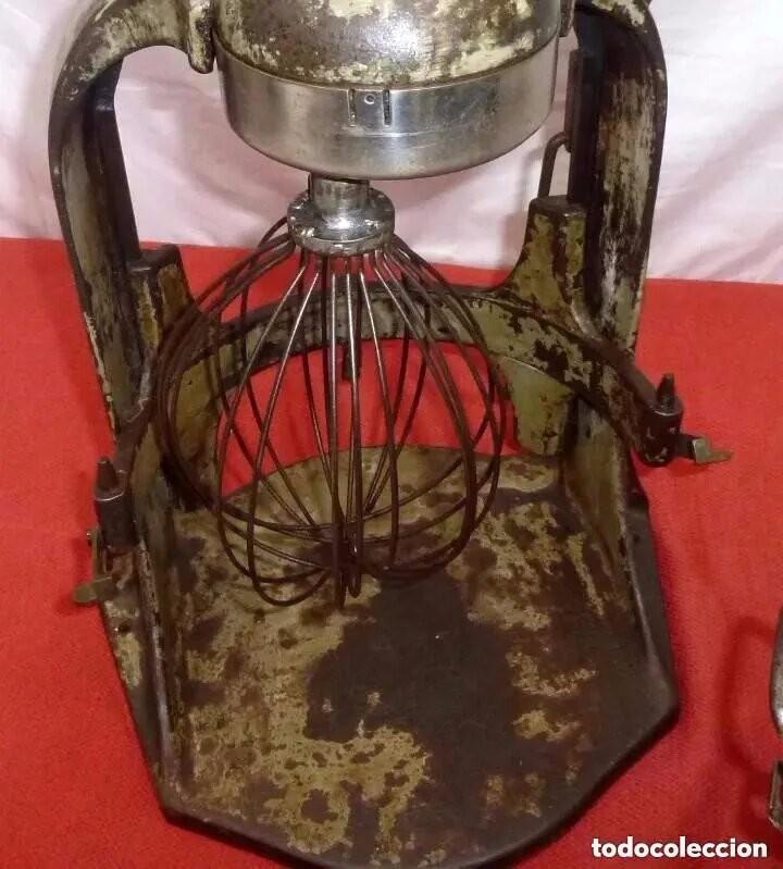 Antigüedades: Antigua Amasadora,Batidora.The Hobart Manufacturing Co Troy,o, U.S.A.Años 20. - Foto 24 - 226698620