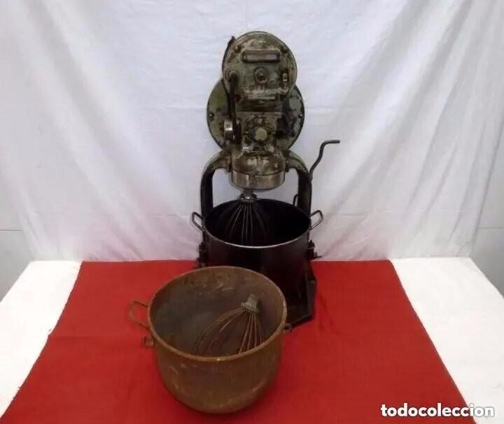 Antigüedades: Antigua Amasadora,Batidora.The Hobart Manufacturing Co Troy,o, U.S.A.Años 20. - Foto 25 - 226698620